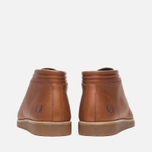 Fred Perry Southall Mid Leather Men's Shoes Tan photo- 3