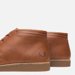 Fred Perry Southall Mid Leather Men's Shoes Tan photo- 5