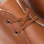 Fred Perry Southall Mid Leather Men's Shoes Tan photo- 6