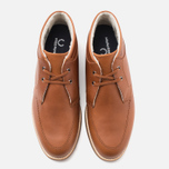 Fred Perry Southall Mid Leather Men's Shoes Tan photo- 4