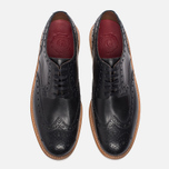 Мужские ботинки броги Grenson Archie Brogue Sole Rubber Black фото- 3