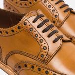 Мужские ботинки броги Grenson Archie Brogue Sole Rubber Tan фото- 3