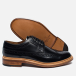 Мужские ботинки Grenson Sid Long Wing Brogue Black фото- 2