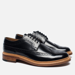Мужские ботинки Grenson Sid Long Wing Brogue Black фото- 1