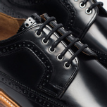 Мужские ботинки Grenson Sid Long Wing Brogue Black фото- 5