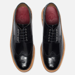 Мужские ботинки Grenson Sid Long Wing Brogue Black фото- 4
