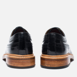 Мужские ботинки Grenson Sid Long Wing Brogue Black фото- 3