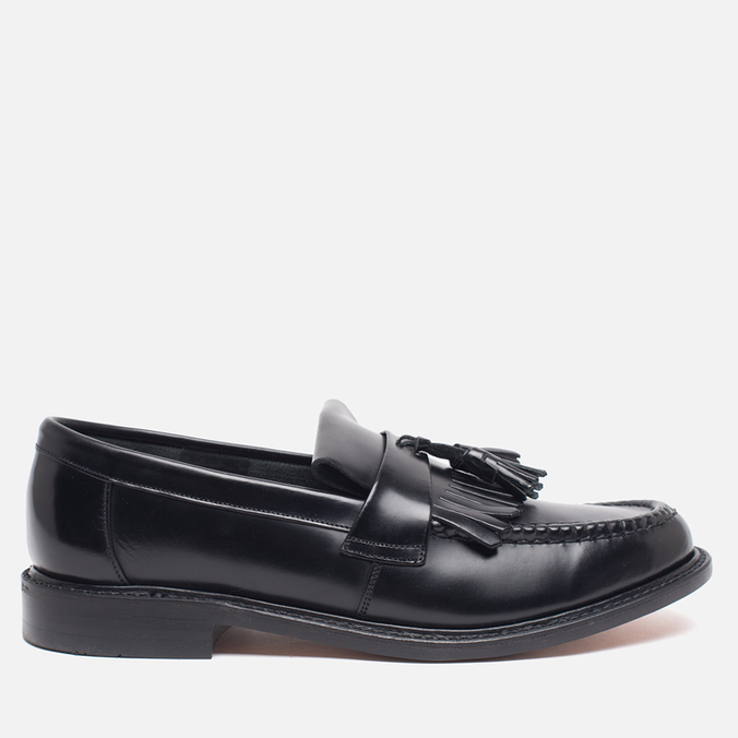 Мужские ботинки Loake Brighton Polished Loafer Black