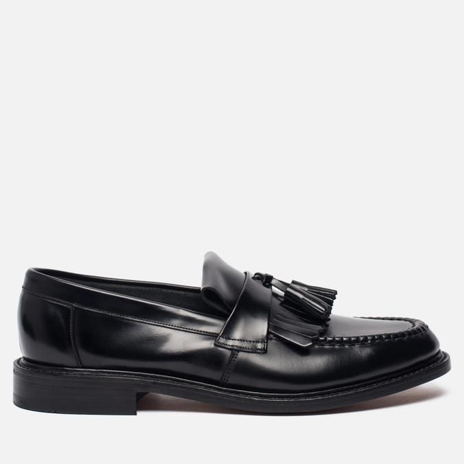 Мужские ботинки Loake Brighton Polished Loafer Black
