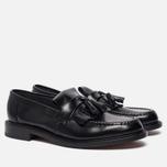 Мужские ботинки Loake Brighton Polished Loafer Black фото- 1
