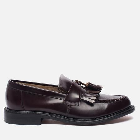 Мужские ботинки Loake Brighton Polished Loafer Oxblood