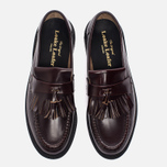 Мужские ботинки Loake Brighton Polished Loafer Oxblood фото- 4