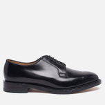 Loake Plain Derby Polished Men's Shoes Black photo- 0