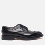 Мужские ботинки броги Loake Royal Polished Black фото- 0