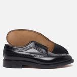 Мужские ботинки броги Loake Royal Polished Black фото- 2