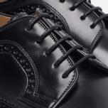 Мужские ботинки броги Loake Royal Polished Black фото- 4