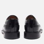 Мужские ботинки броги Loake Royal Polished Black фото- 3