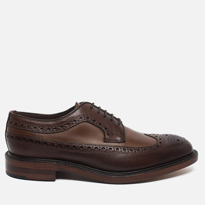 Мужские ботинки Loake Taunton Grain Dark Brown