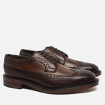 Мужские ботинки Loake Taunton Grain Dark Brown фото- 1