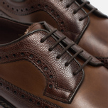 Мужские ботинки Loake Taunton Grain Dark Brown фото- 3
