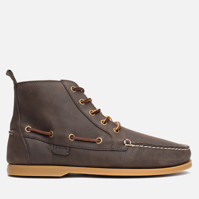 Мужские ботинки Polo Ralph Lauren Barrott Dark Brown