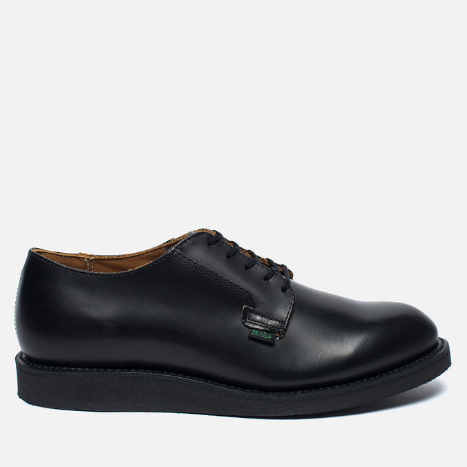 Мужские ботинки Red Wing Shoes 101 Postman Oxford Leather Black Chaparral