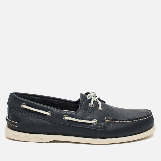 Sperry Top-Sider A/O 2-Eye Boat Men's Shoes Navy