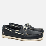 Sperry Top-Sider A/O 2-Eye Boat Men's Shoes Navy photo- 1