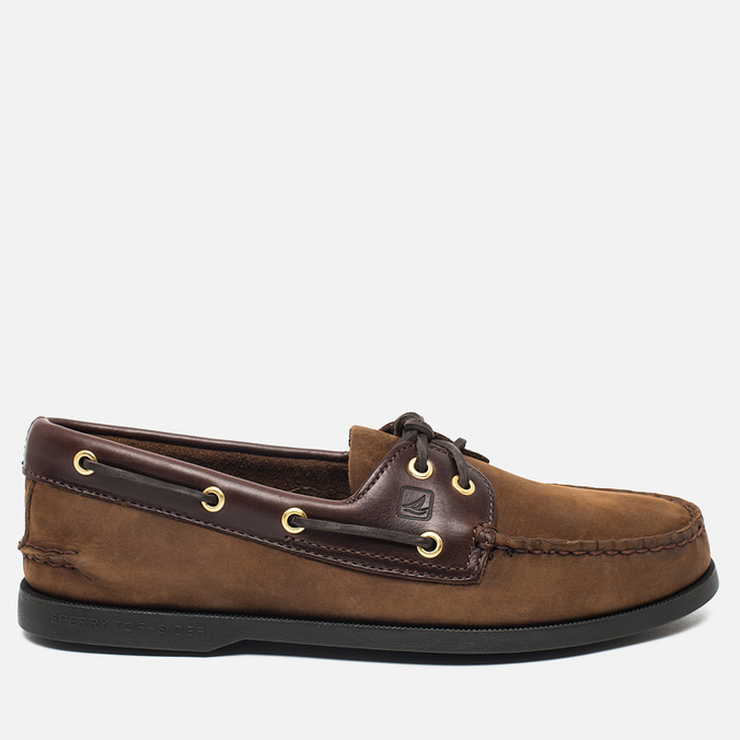 Мужские ботинки Sperry Top-Sider A/O 2-Eye Buck Brown