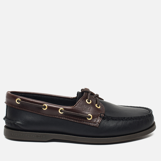 Sperry Top-Sider A/O 2-Eye Men's Shoes Black/Amaretto