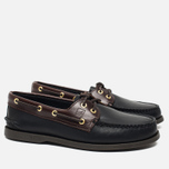 Sperry Top-Sider A/O 2-Eye Men's Shoes Black/Amaretto  photo- 1