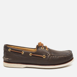 Sperry Top-Sider Gold Cup A/O 2-Eye Men's Shoes Brown photo- 0