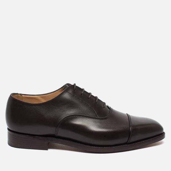 Мужские ботинки Tricker's Oxford Regent Espresso Burnished