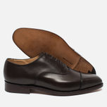 Trickers Oxford Regend Men's Shoes Espresso Burnished photo- 2