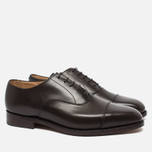 Trickers Oxford Regend Men's Shoes Espresso Burnished photo- 1