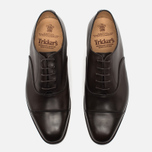 Trickers Oxford Regend Men's Shoes Espresso Burnished photo- 4