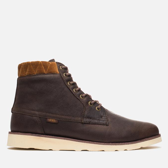 Vans Breton Boot SE Men's Shoes Brown