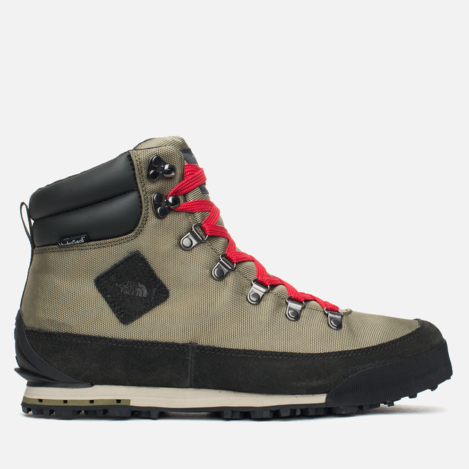 The North Face Back to Berkeley Men's Winter Shoes Black/Olive/Red