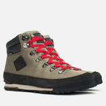The North Face Back to Berkeley Men's Winter Shoes Black/Olive/Red photo- 1