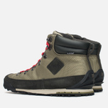 The North Face Back to Berkeley Men's Winter Shoes Black/Olive/Red photo- 2