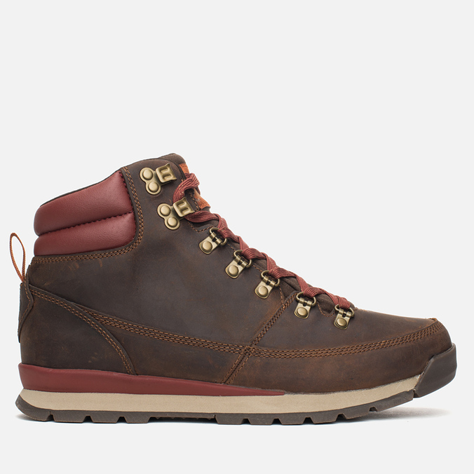 Мужские зимние ботинки The North Face Back to Berkeley Redux Ginger Bread Brown/Deep Brown