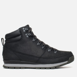 Мужские зимние ботинки The North Face Back to Berkeley Redux Leather Black фото- 0