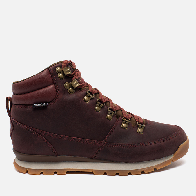 Мужские зимние ботинки The North Face Back to Berkeley Redux Leather Bordeaux