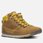 The North Face Back To Berkeley Redux Leather Men's Winter Shoes Olive/Brown photo- 1