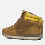 The North Face Back To Berkeley Redux Leather Men's Winter Shoes Olive/Brown photo- 2