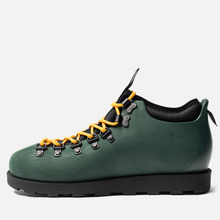 Ботинки Native Fitzsimmons Dark Spooky Green/Jiffy Black фото- 2