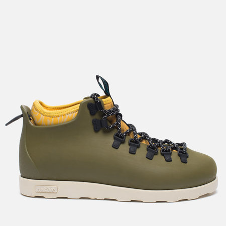 Ботинки Native Fitzsimmons Print Rookie Green/Honey Yellow