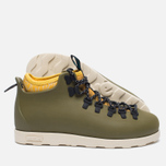 Ботинки Native Fitzsimmons Print Rookie Green/Honey Yellow фото- 1