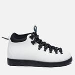 Ботинки Native Fitzsimmons Shell White/Jiffy Black фото- 0