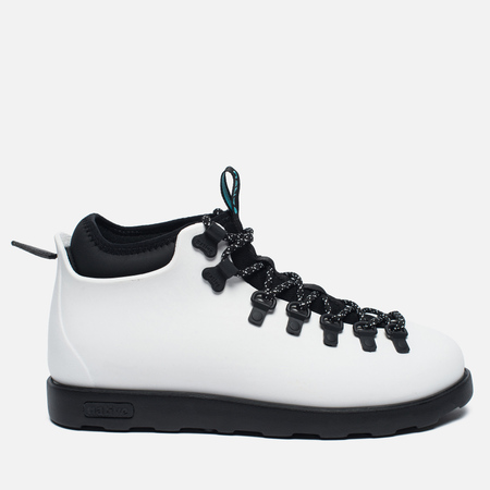Ботинки Native Fitzsimmons Shell White/Jiffy Black